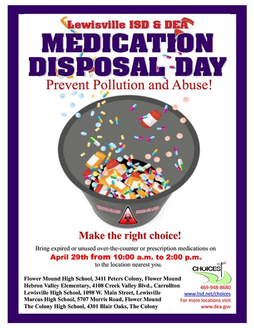 Medication Disposal Day Info