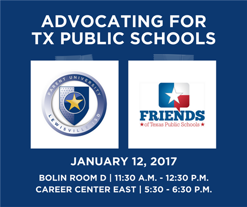 Advocating for TX Public Schools