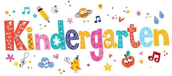 It's Time For Kindergarten 2019-2020!