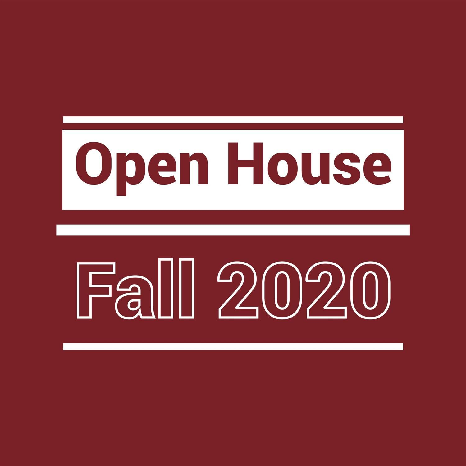 Open House Fall 2020