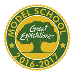 Model School Badge
