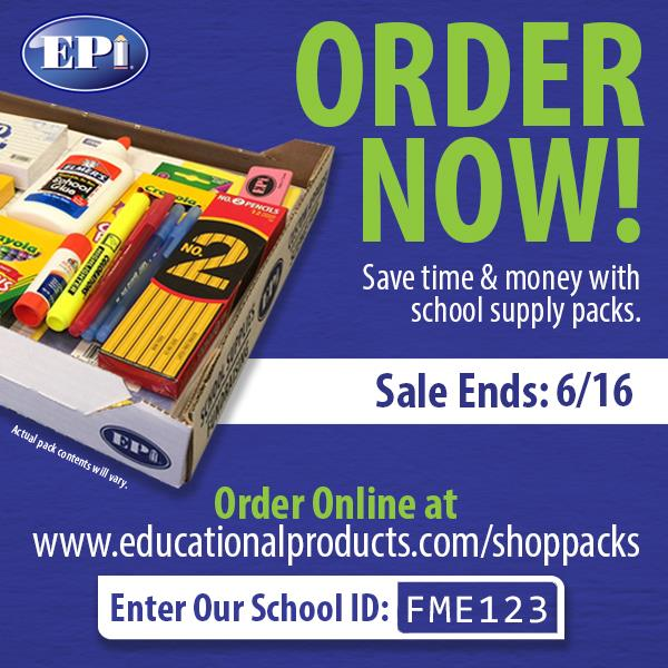 Order School Supply Packs
