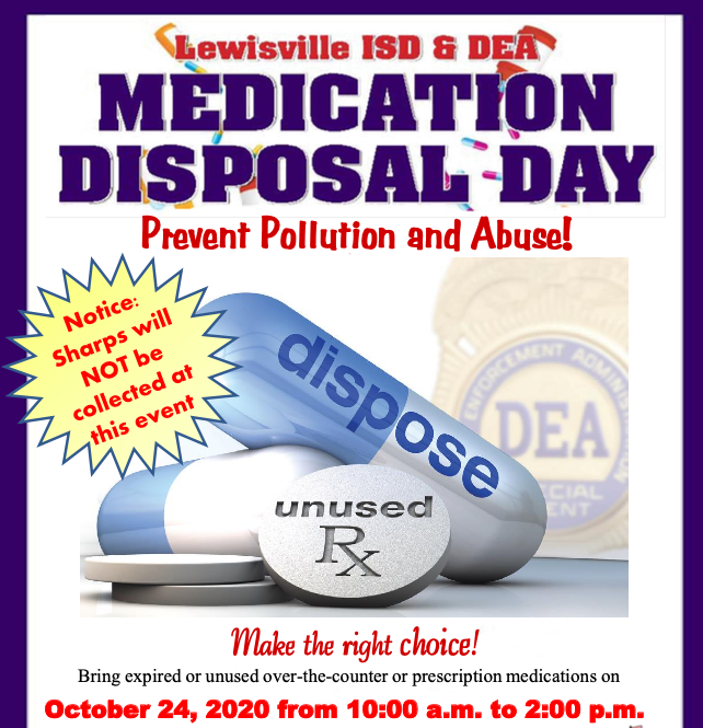 Medical Waste Disposal Flyer