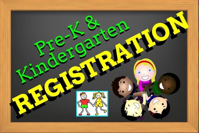 Pre-Kindergarten and Kindergarten Registration (2019-2020)
