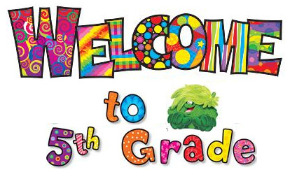 5th grade welcome