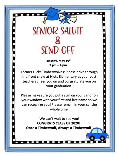 Student Belonging Pickup & Senior Send-Off