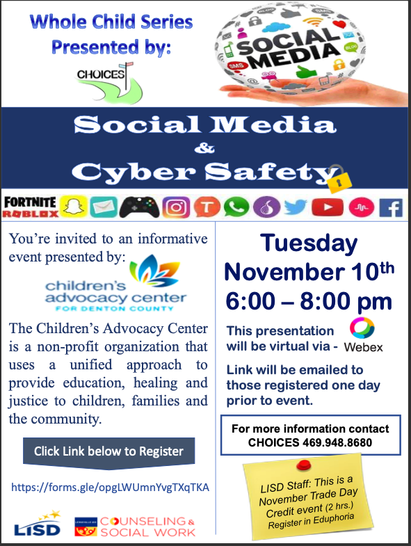 Social Media & Cyber Safety Classes