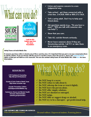 Suicide Prevention - Page 2