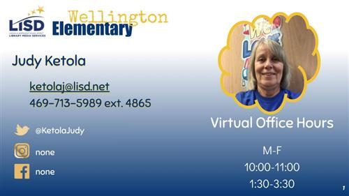 Contact Information for Mrs. Ketola