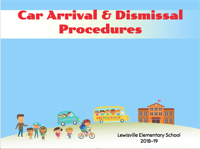 2018-19 Car Dismissal Procedures