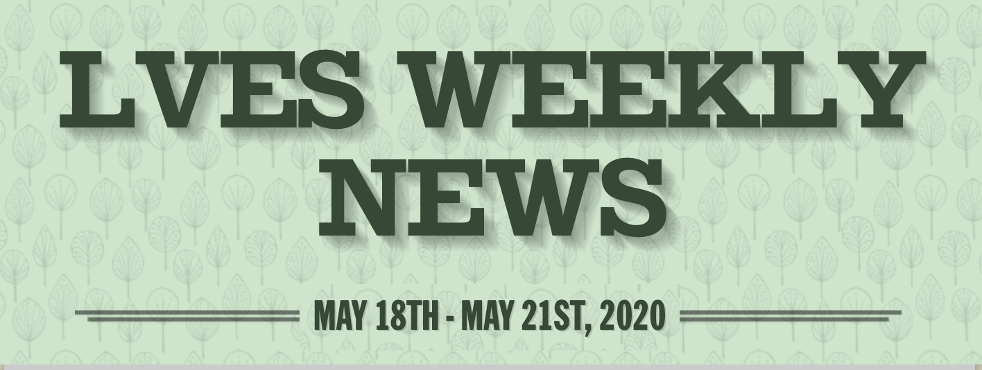 Weekly Newsletter May 18th