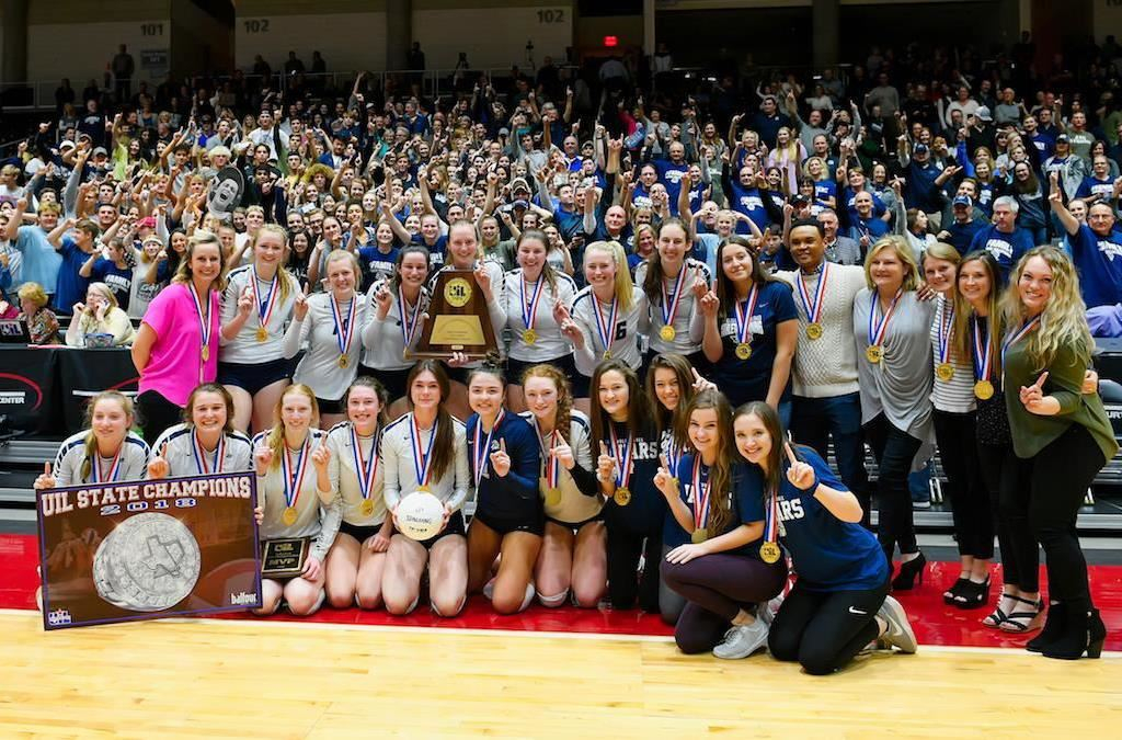 FMHS Volleyball 2018 State Champs