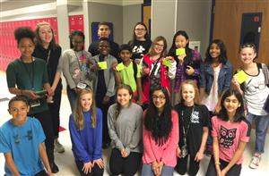 Creek Valley MS Gains Improvements through Lunch and Learn