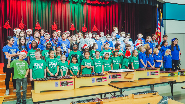Hebron Valley Elementary Joint Concert Supports Neighboring School Districts