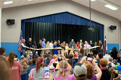 LISD STEM Academy at Donald Ribbon Cutting 20178