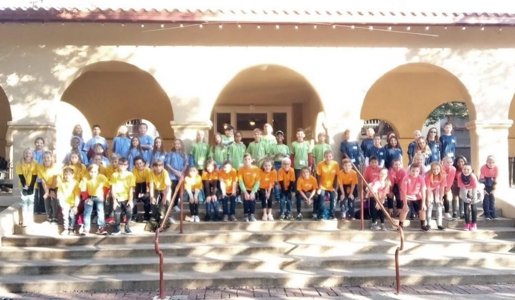 Bridlewood Fourth Graders travel to Fort Worth. 2019