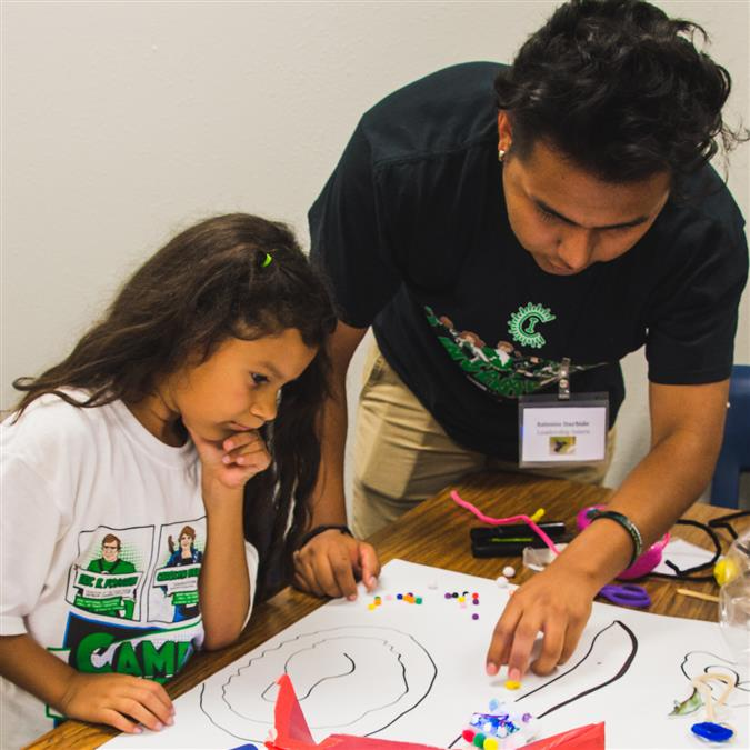 Students Explore STEM Concepts and Creative Sides During Summer Camp