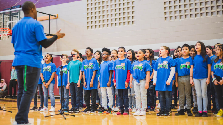 Creekside Elementary Choir Lifts Every Voice and Sings
