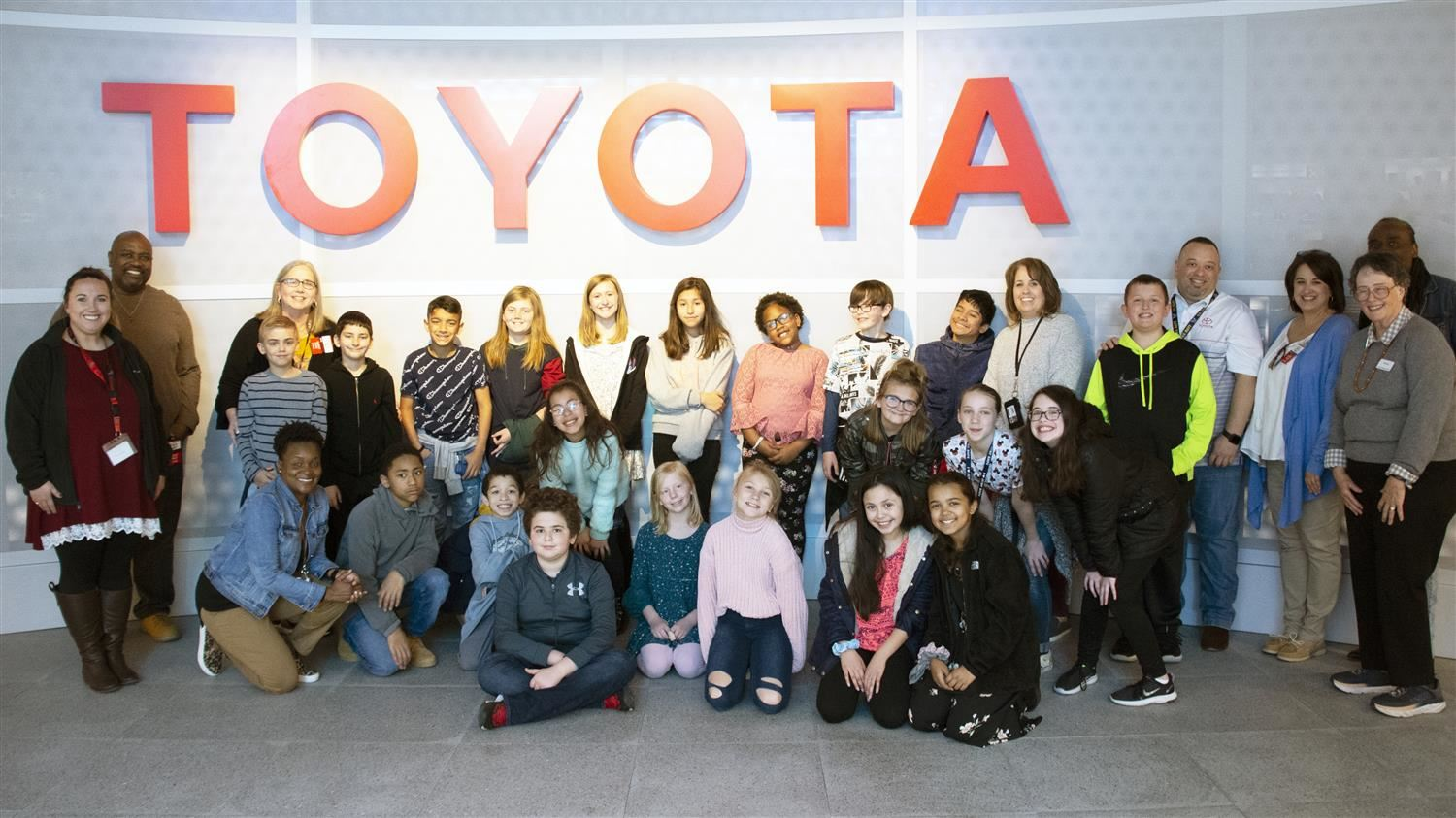 B.B. Owen Elementary Students Make Memorable Visit to Toyota Headquarters
