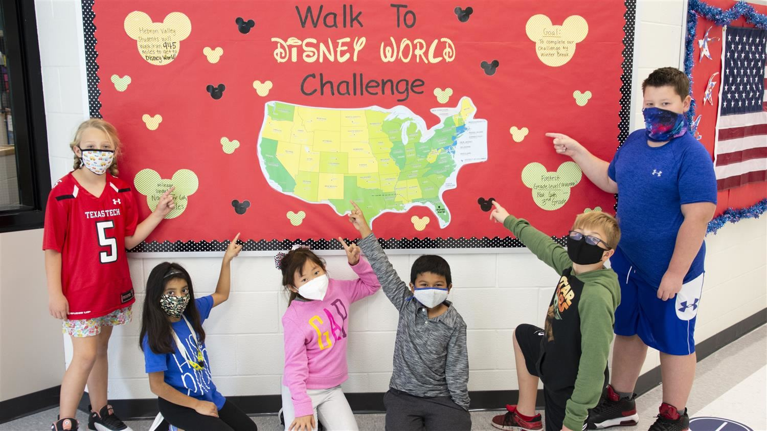 "Hebron Valley Elementary Students Make it to ""Disney World"""