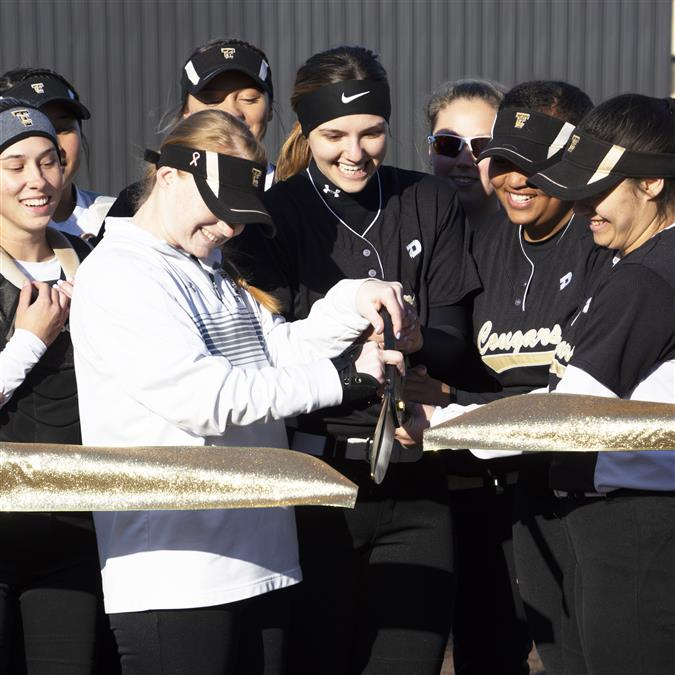 PHOTOS | TCHS Softball Field Ribbon Cutting Ceremony