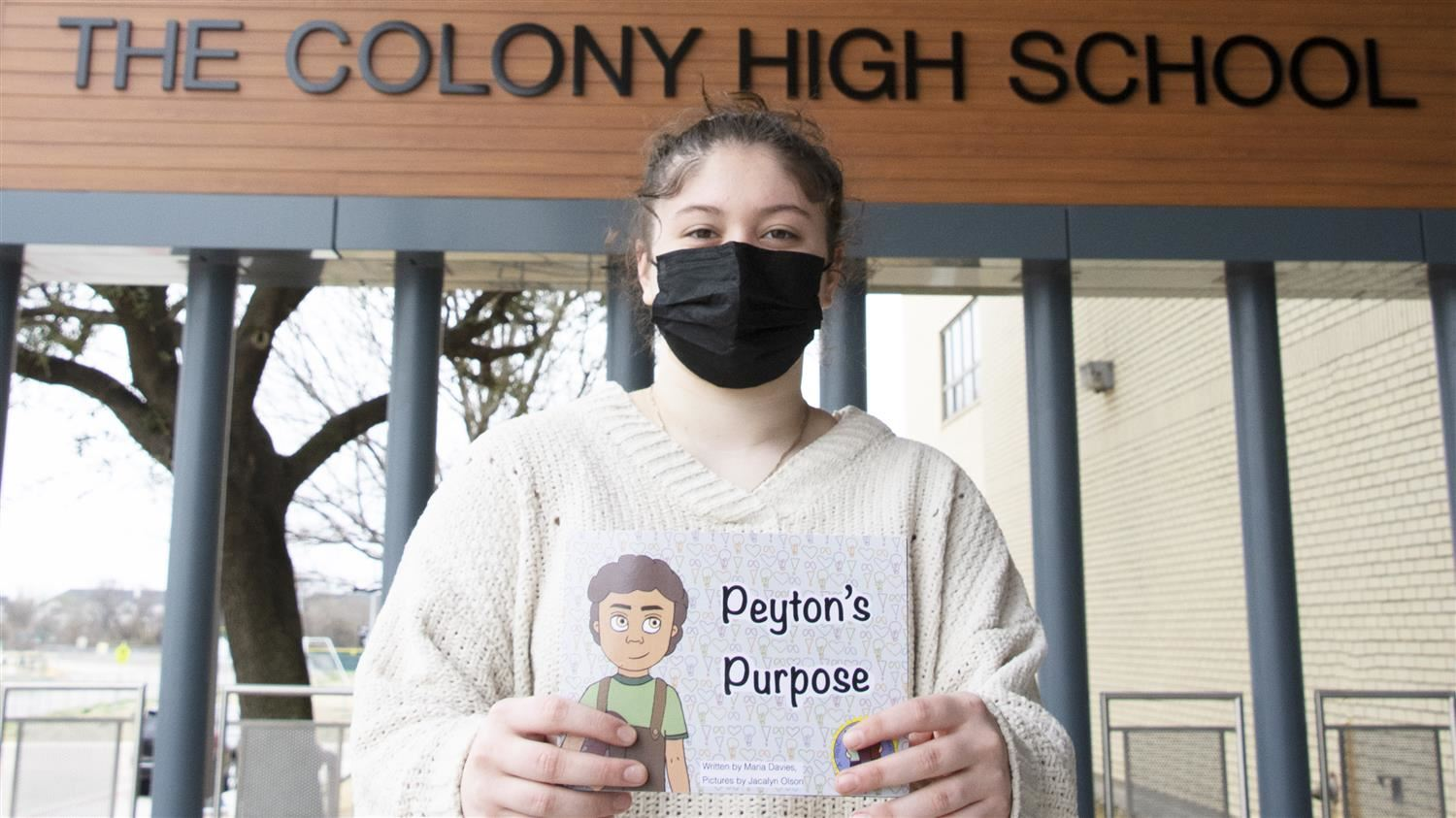 The Colony High School Student Illustrates Now-Published Children's Book