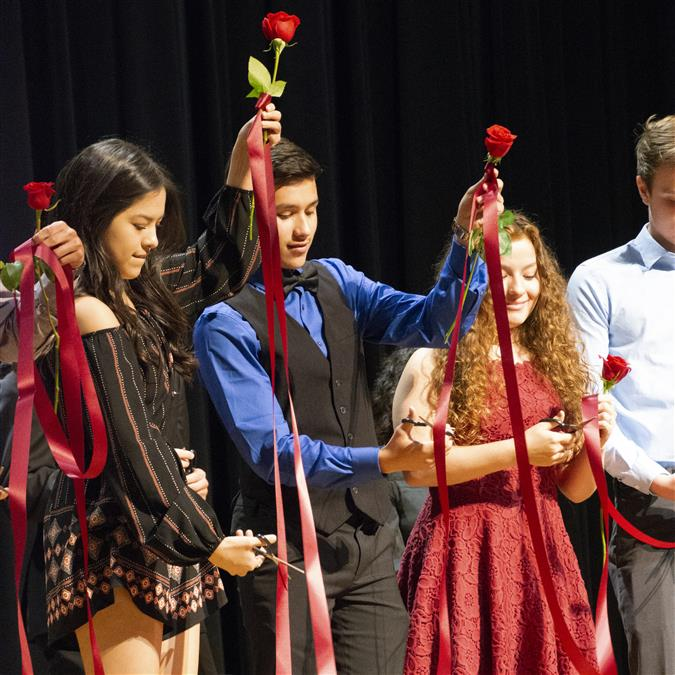 LHS Holds 84th Annual Rosecutting Ceremony