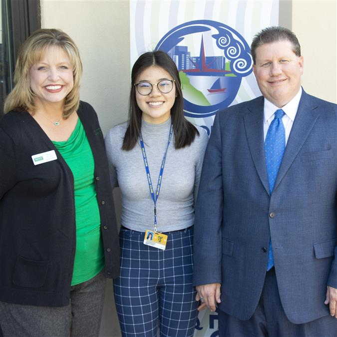The Colony High School's Khong Named The Colony Chamber of Commerce/DATCU Credit Union May Student of the Month