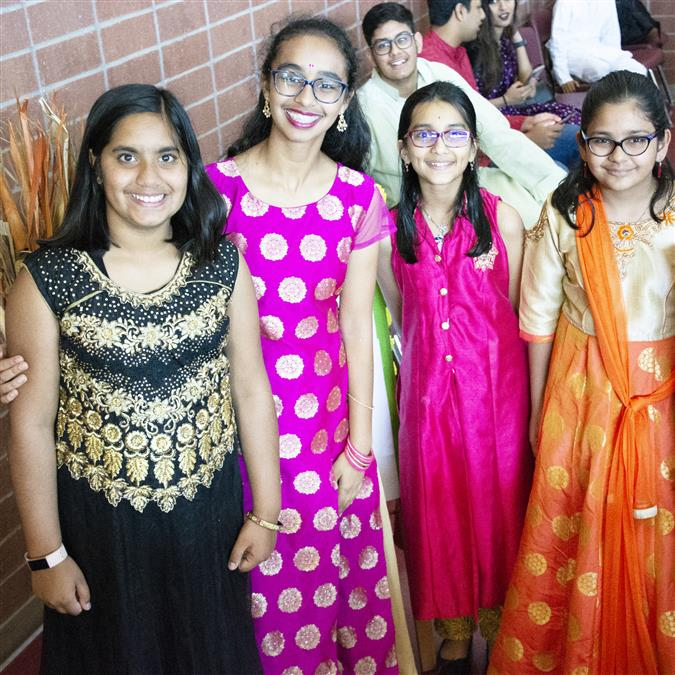 VIDEO: Lewisville ISD Students, Teachers Attend Guru Vandana
