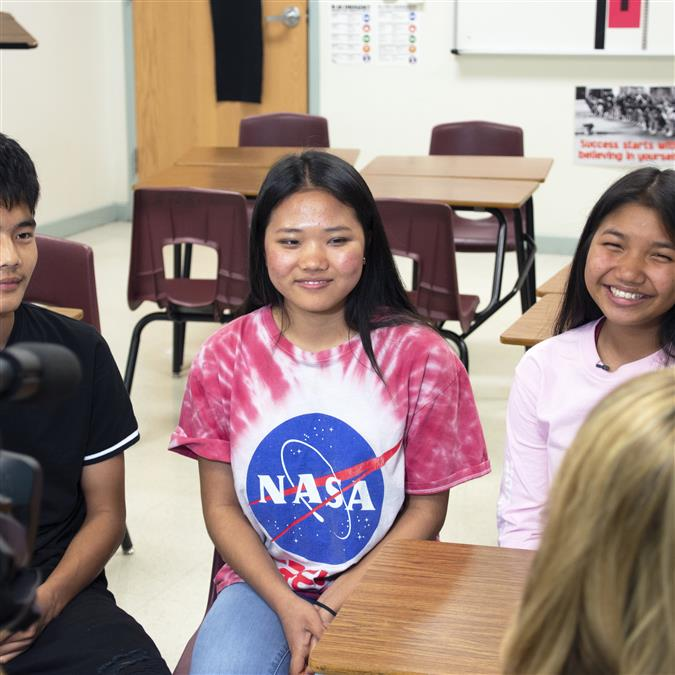 WATCH: FOX 4 Highlights How LISD Provides Foreign Language Opportunities for Chin Students
