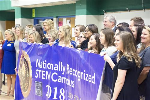 Donald Elementary Nationally Recognized STEM Campus 2018