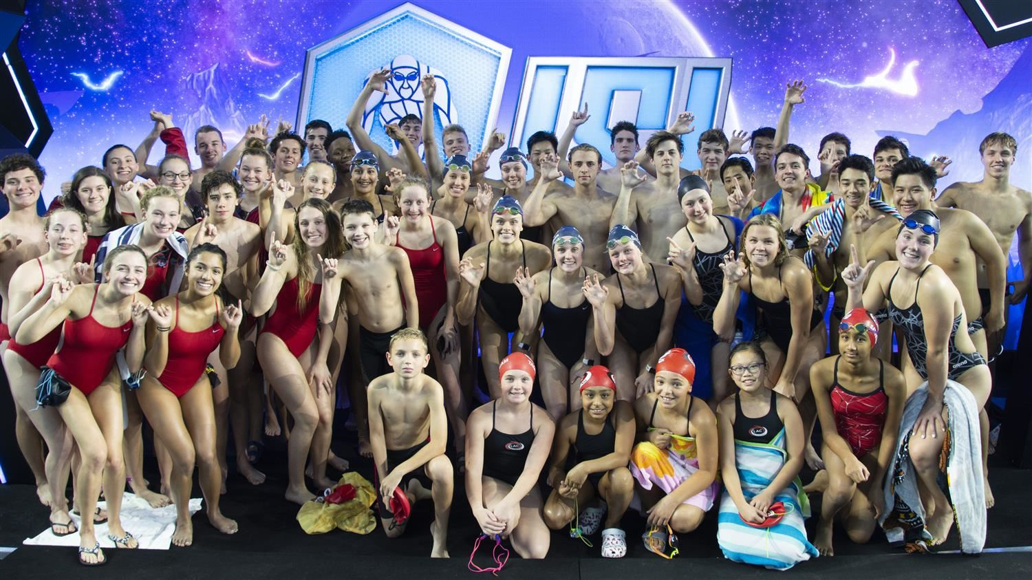 VIDEO | Student-Athletes Experience Swimming in Spotlight