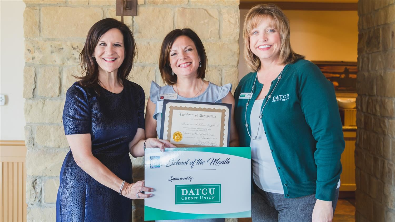Timber Creek Elementary Named Flower Mound Chamber of Commerce/DATCU November School of the Month