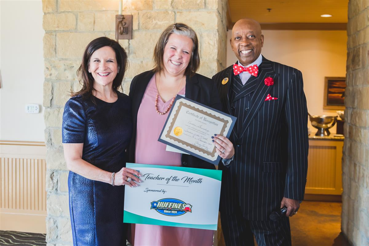 Heather Gronneberg named Flower Mound Chamber Teacher of the Month