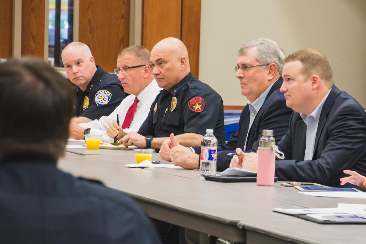 Garrett, Community and District Leaders Meet to Discuss Safety Needs