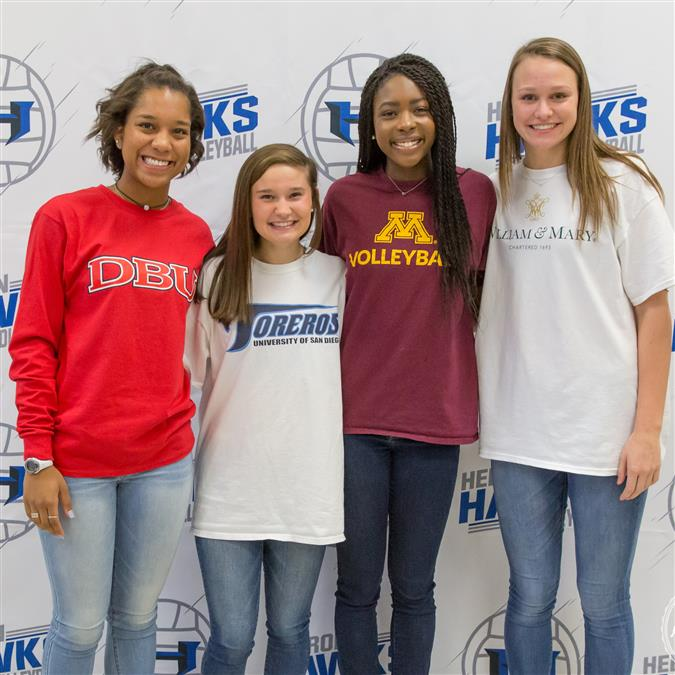 Lewisville ISD Student Athlete Signings and Commits | 2017-2018