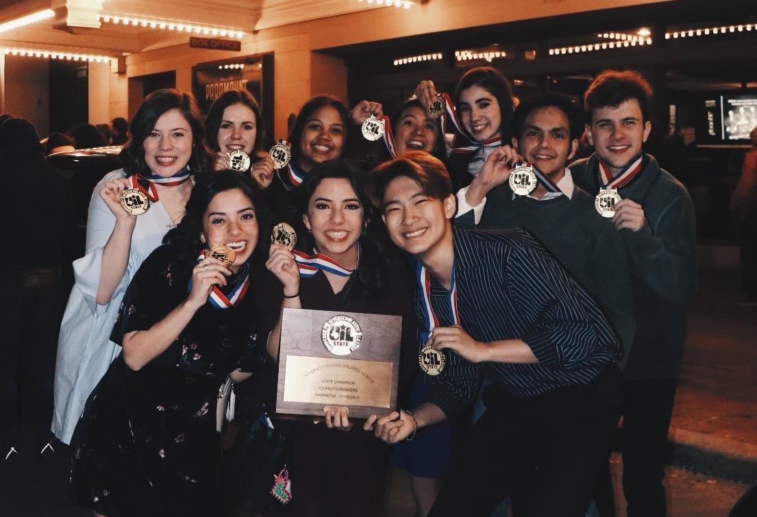 Hebron High Schools Win State Title at UIL Film Festival