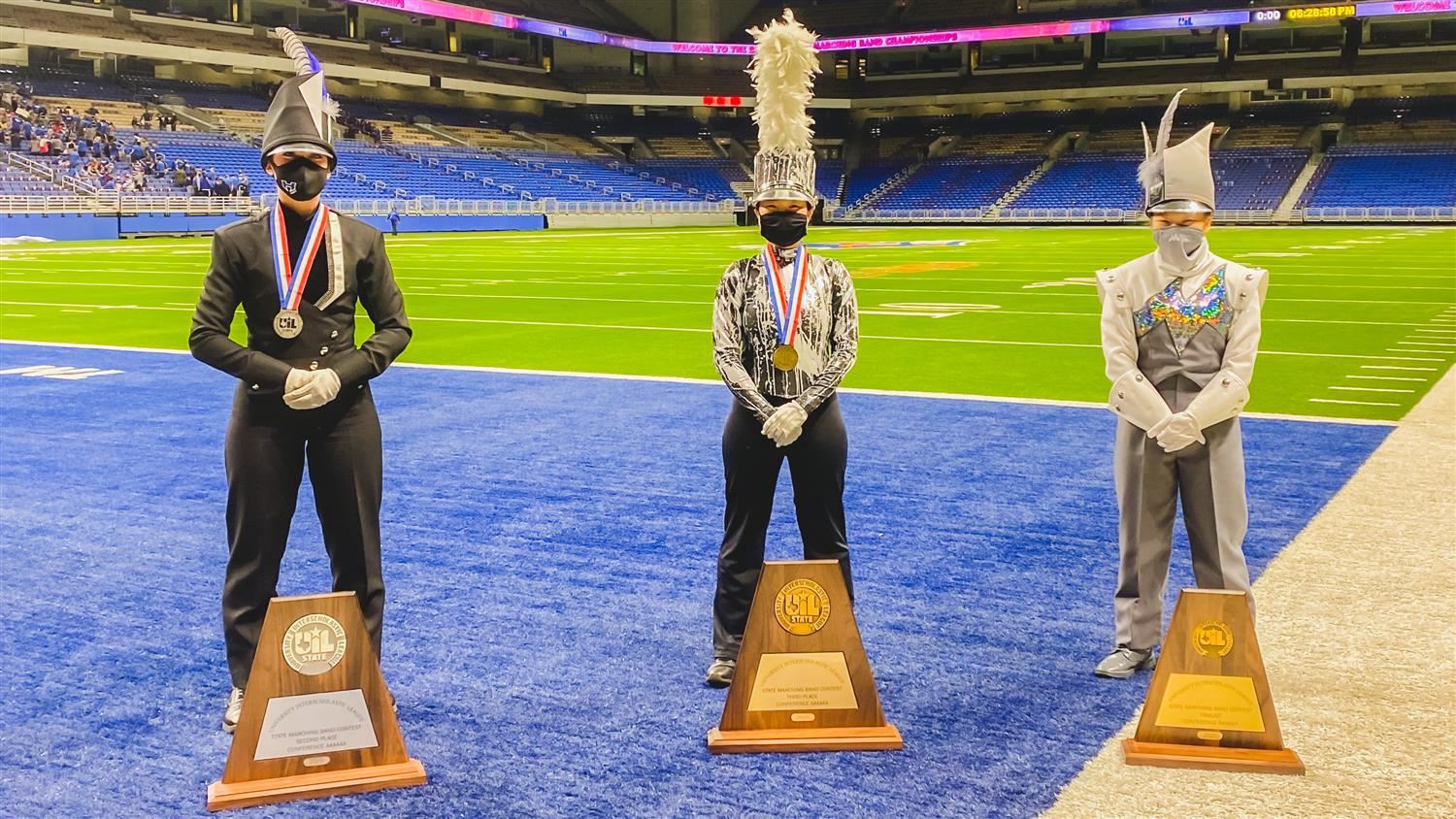 LISD Bands Shine at State Contest