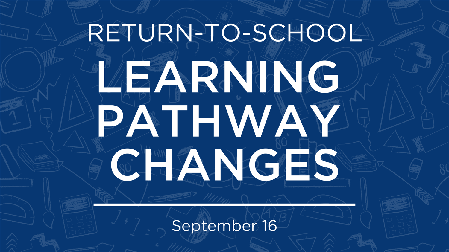 Learning Pathway Change Form | Sept. 16