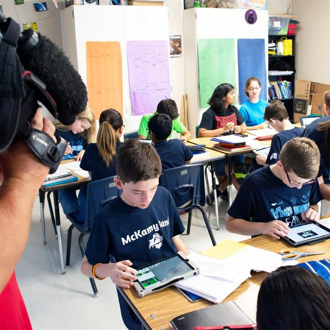 WATCH: McKamy Middle School Students Featured by CBS 11