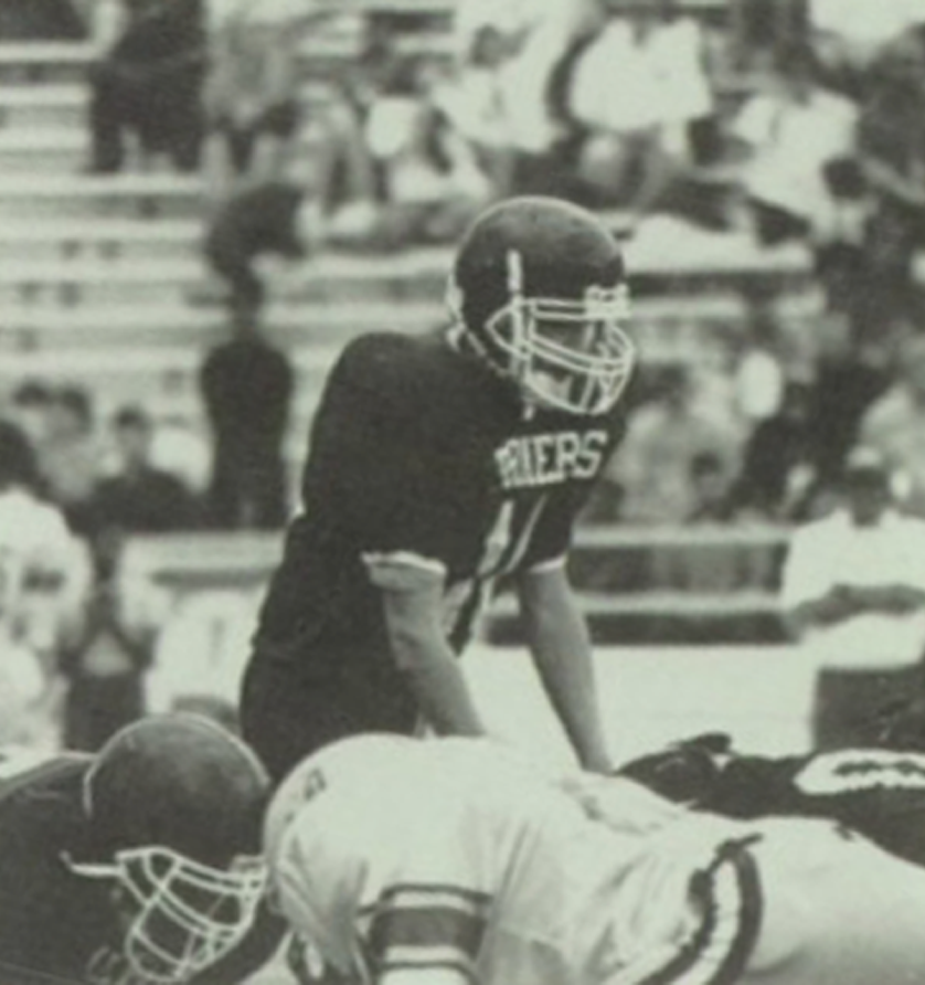 Michael Odle in 1996. Courtesy the LHS Farmer Yearbook.
