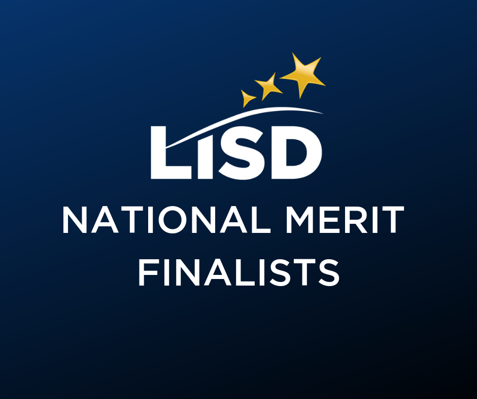 LISD 2019 National Merit Finalists Graphic