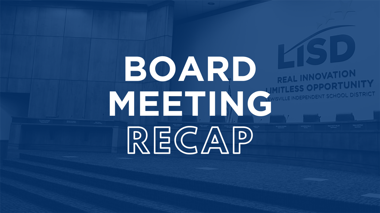 LISD May 10 Board Meeting Recap