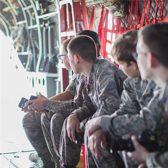 VIDEO: Marcus High School Air Force JROTC Cadets Take to the Sky