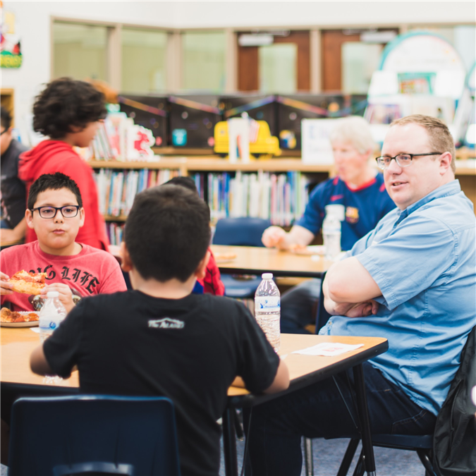 Creekside Elementary Builds Character Through Lunchtime