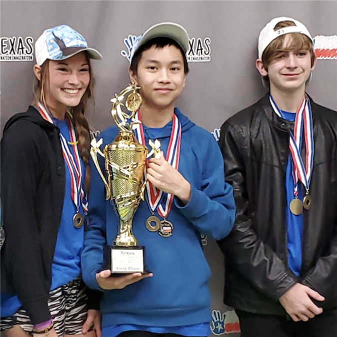 LISD Destination Imagination Team Wins First in State