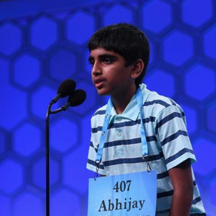 McKamy Middle School Student Abhijay Kodali is a 2019 Scripps National Spelling Bee Co-Champion.