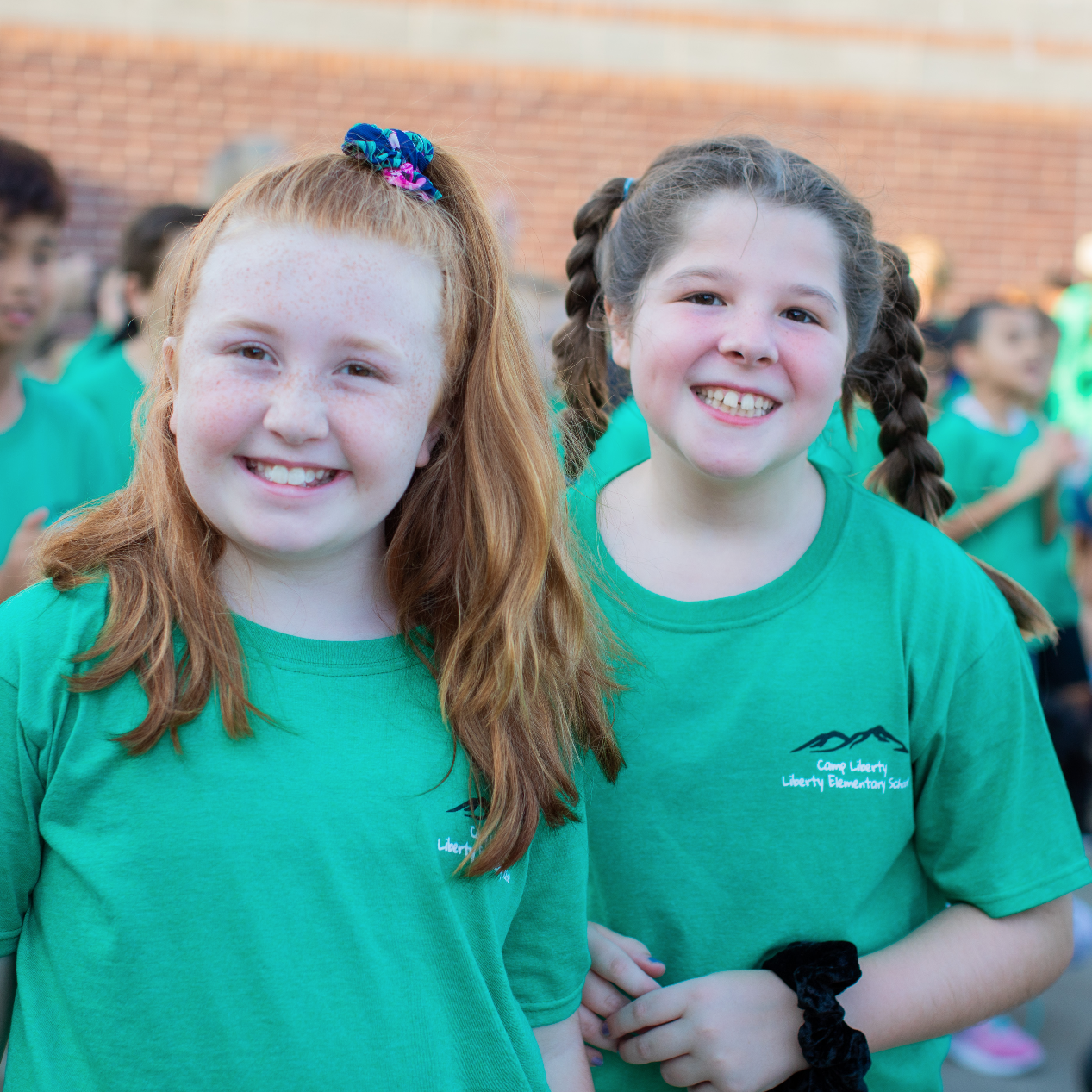 Liberty 'N Friends Celebrate Another New School Year