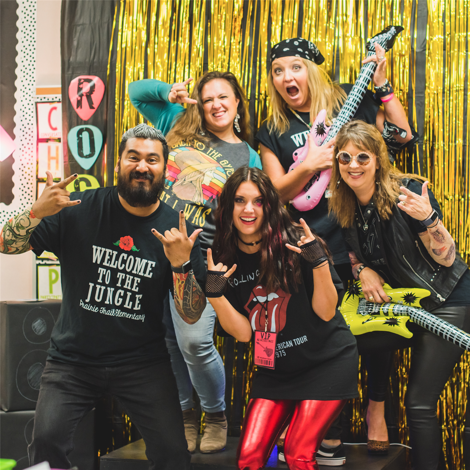 Rock On, Prairie Trail Elementary