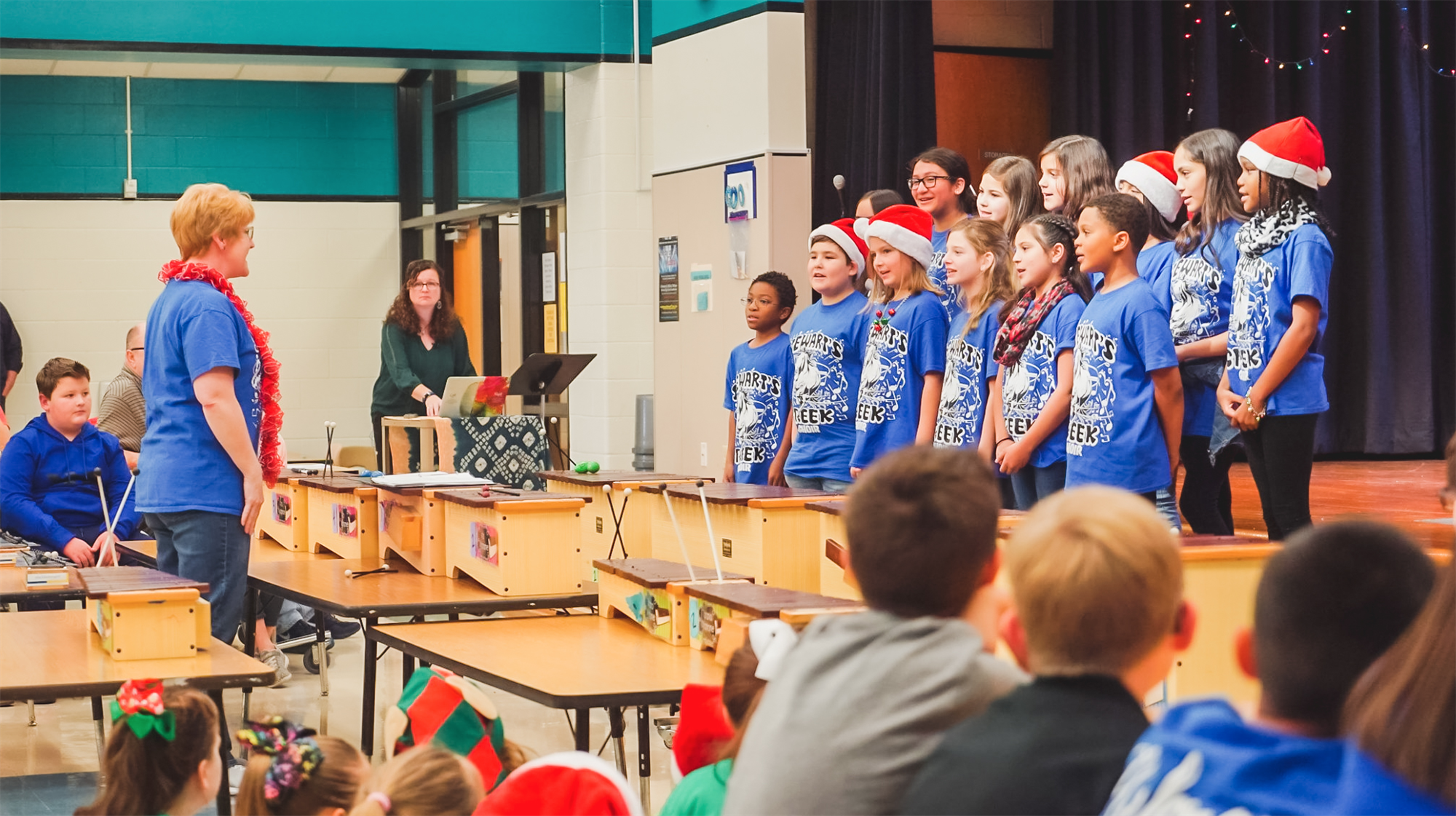 Stewart's Creek Choir sings at Hebron Valley Benefit Concert. 2019